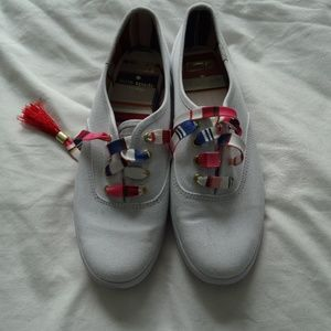Keds/Kate Spade Collaboration White Sneakers